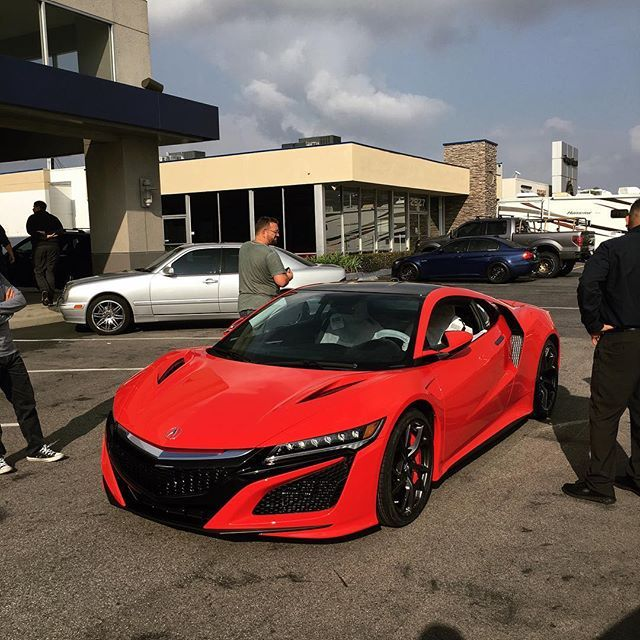 Brand New Acura NSX Ready For A New Home! Contact