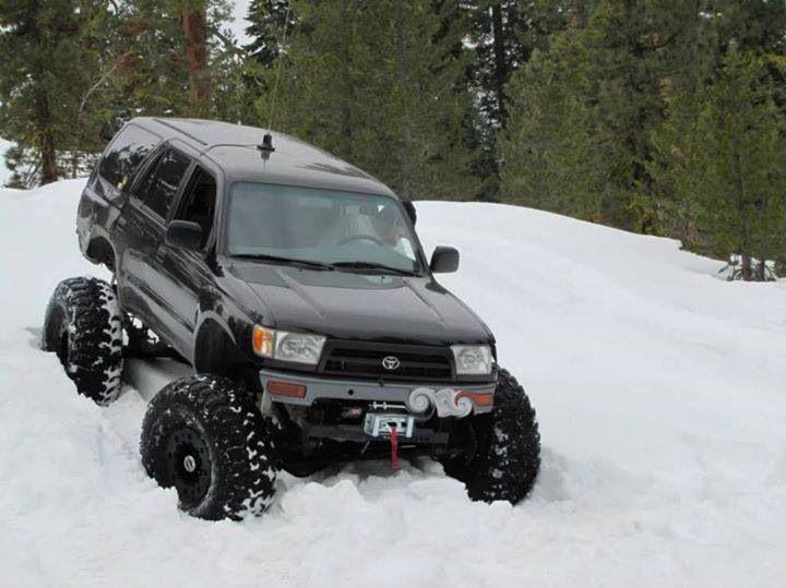 Sas 4runner Snow Wheeling Offroad Pinterest Wheels