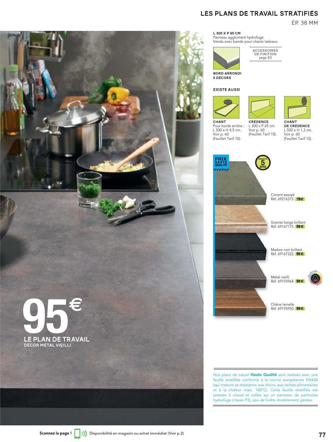 Catalogue Leroy Merlin 10 03 30 04 2014 Plan De Travail Stratifie Plan De Travail Decoration
