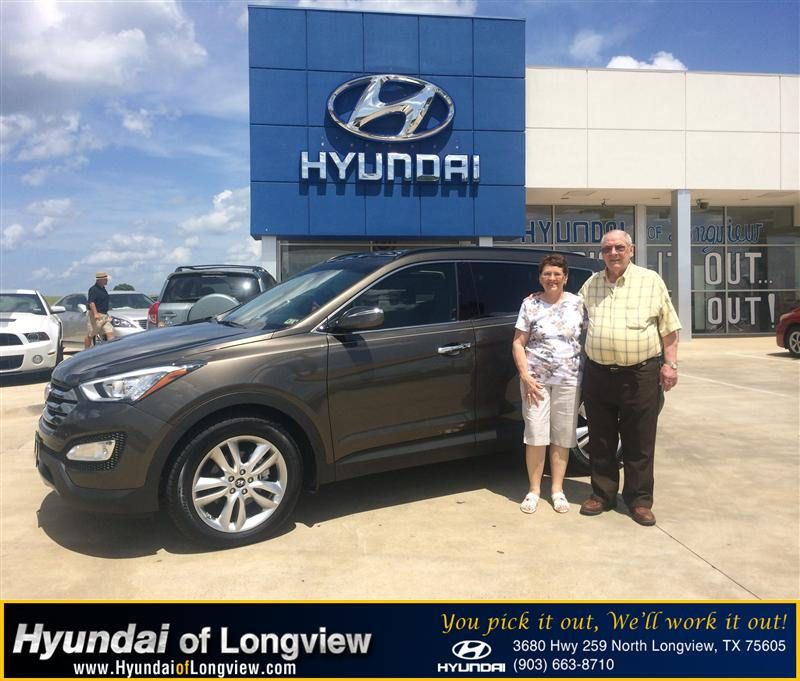 Congratulations to Jerry Dancer on your #Hyundai #Santa Fe purchase from Danny Belew at Hyundai of Longview! #RollingInStyle