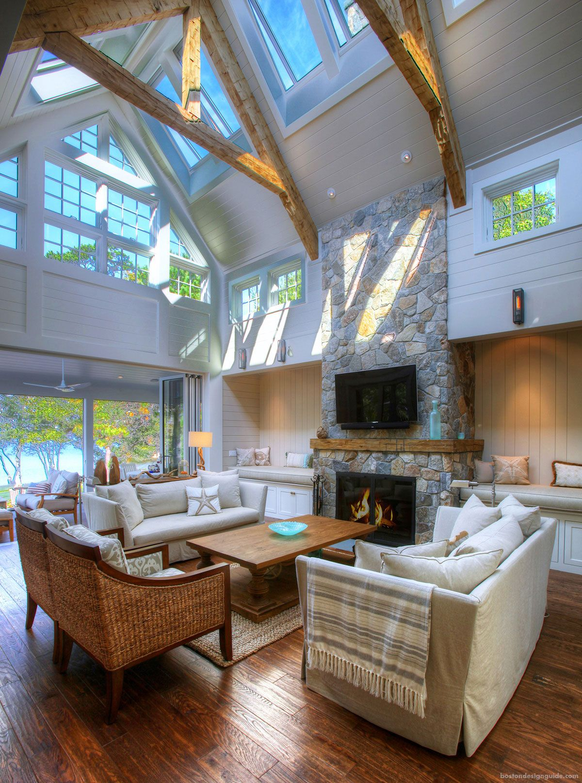 Open plan concept home remodel