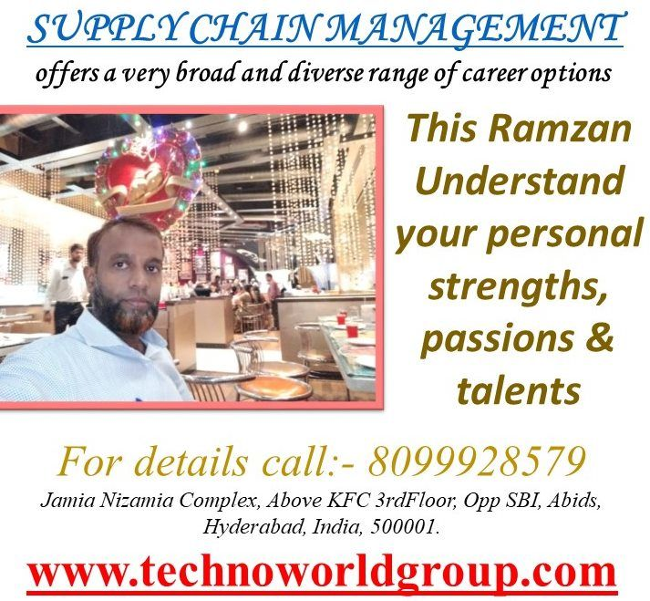 SUPPLYCHAINMANAGEMENT offers a very broad and diverse