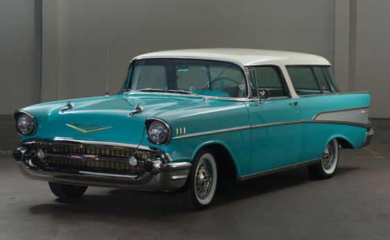 1957 Chevrolet Bel Air Nomad Station Wagon 1957 Chevrolet