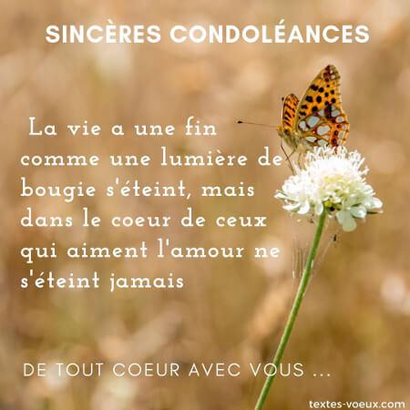 11 idées de Condoléances en 2021 | citation deuil, message de condoléances,  citation décès