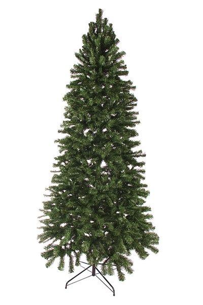 8 Slim Norway Spruce Artificial Christmas Tree Unlit 1166 Tips