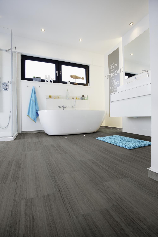 Wineo 600 Stone Dekor Lava Black Format 600 X 317 Mm Als Klickvariante Badezimmerboden Badezimmer Boden Badezimmerboden Ideen