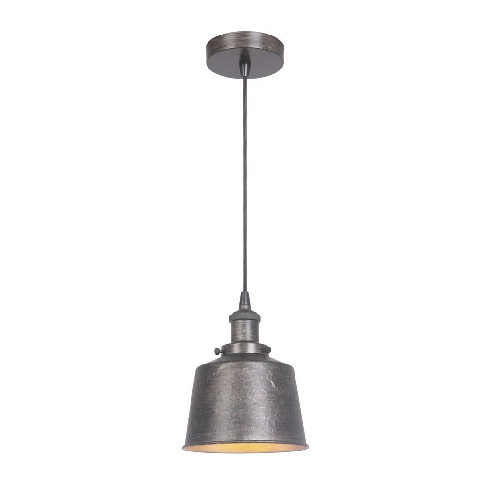 Craftmade lighting natural ironvintage iron minipendant light with