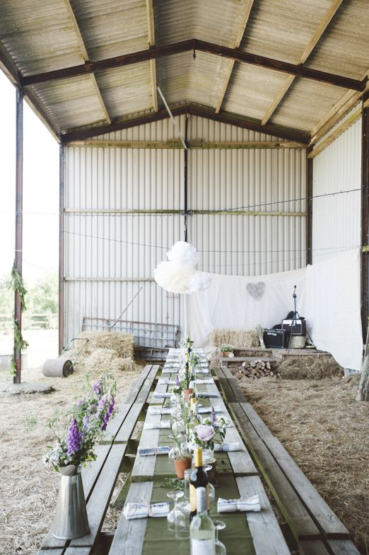 Nik And Chris Chilled Out Rustic Coastal Farm Wedding With Woodland Ceremony Chickens Countryside Flowers