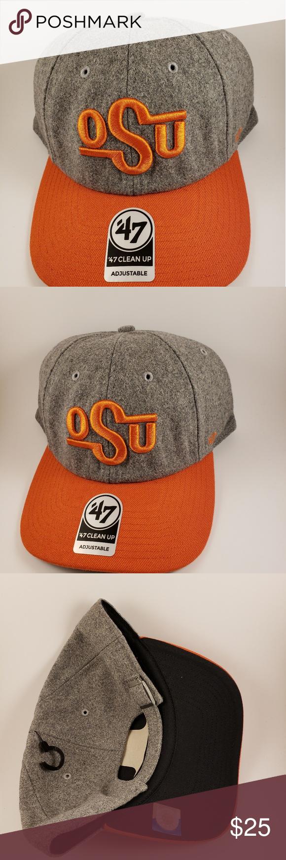 1b188e97bf8 Oklahoma State University Cowboys Hat NWT OKU Cowboys OSFA Brand  47  Oklahoma State Accessories Hats