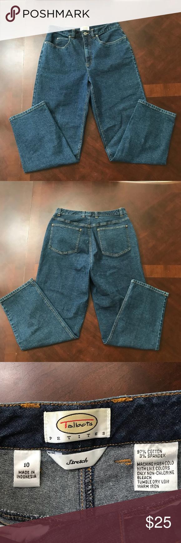 Talbots Petites Stretch Jeans Stretch jeans, Talbots