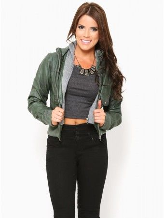 Layer Up Leather Jacket
