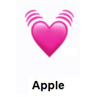 Meaning Of Beating Heart Emoji In 2020 Heart Emoji Emoji Heart With Arrow