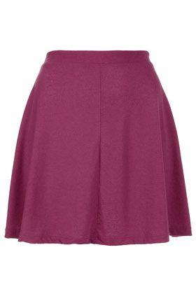 Petite Speckle Skater Skirt