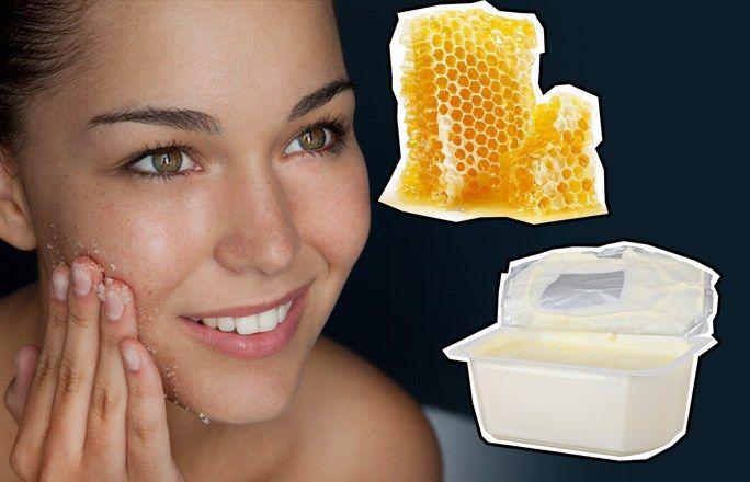Peeling mit Honig und Quark - Peeling selber machen - schön & lecker zugleich