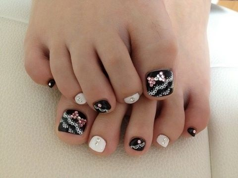 Toe Nails Tumblr M A N I Pinterest Toe Nail Designs Makeup