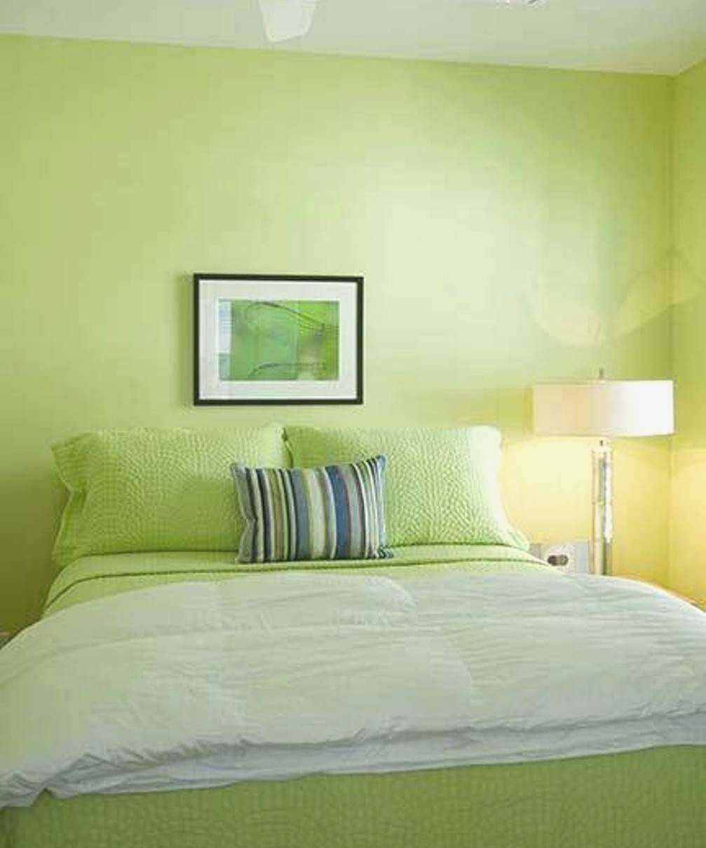 15 Decorating Ideas Green Colour Bedroom Collections