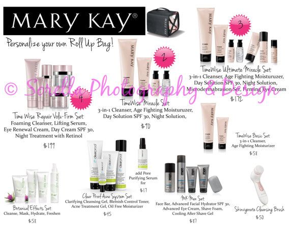 Mary Kay Skin Care Class Closing Sheet By Sorellafotodesign