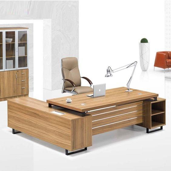 Best Price Veneer Executive Desk Modern Office Table Office