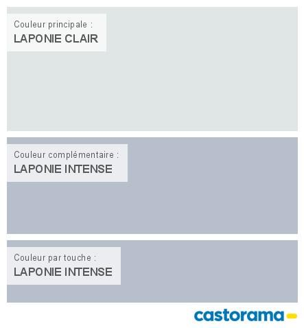 Castorama Nuancier Peinture - Mon harmonie Peinture LAPONIE CLAIR - peinture satin ou mat