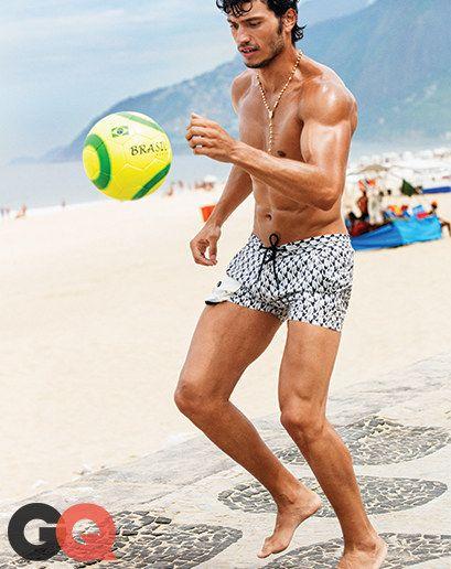 7289e44408 Suit Up for Rio: Summer's Best Swim Trunks on Brazil's Hottest Beach    Sharp dressed dudes   Swim trunks, Swimwear, Swimwear fashion