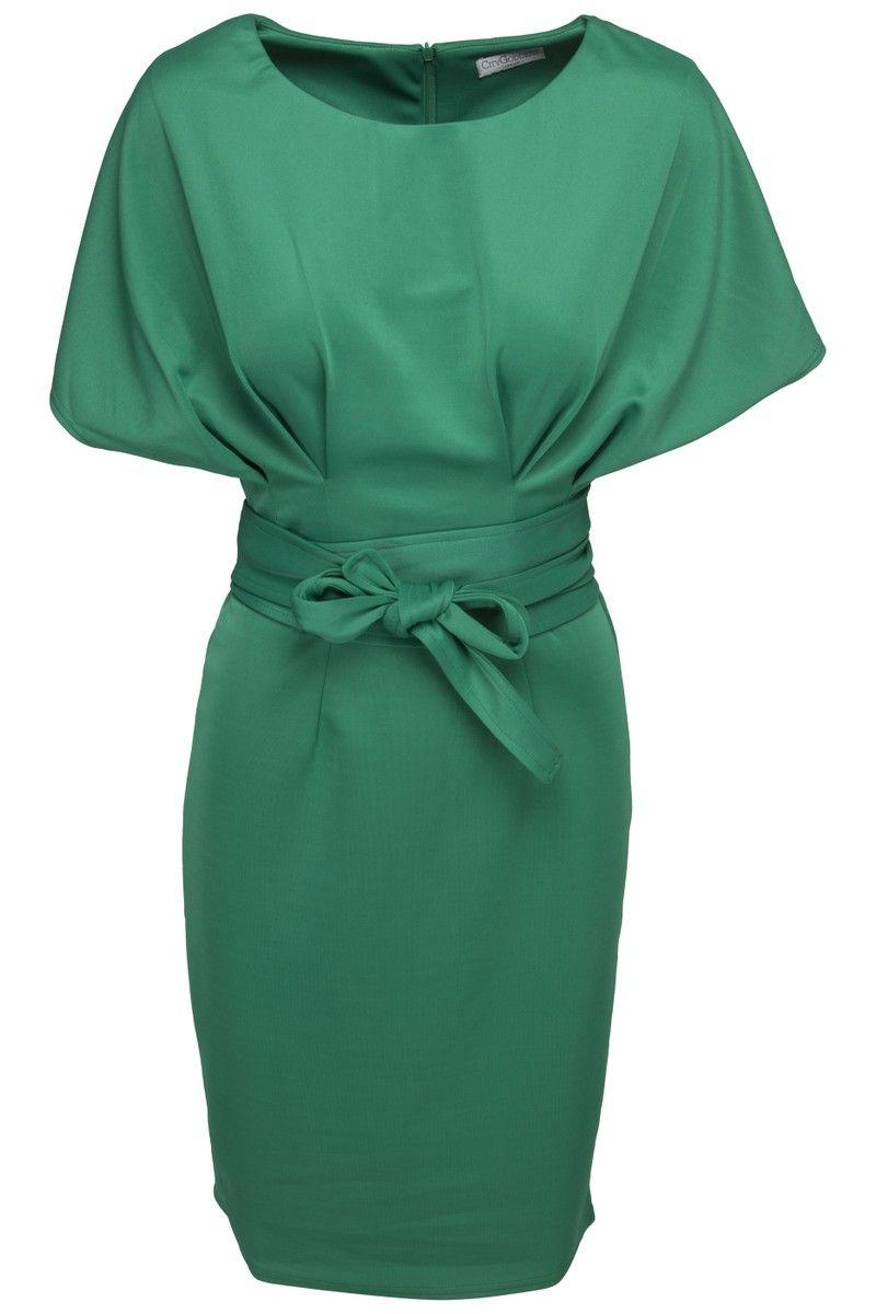f95a7faf36c Goddess grøn kimono kjole | Fashion | Kimono kjole, Kimono, Kjole