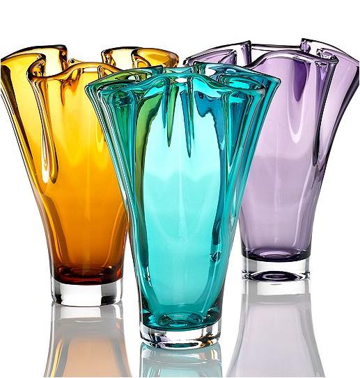 Lenox crystal vases in fun colors available at Macy's #vase #weddinggift #macys http://www.macys.com/registry/wedding/catalog/product/index.ognc?ID=1267426&cm_mmc=BRIDAL-_-CARAT-_-n-_-BCPinterest