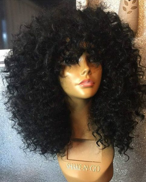 Buy This High Quality Wigs For Black Women Lace Front Wigs Human