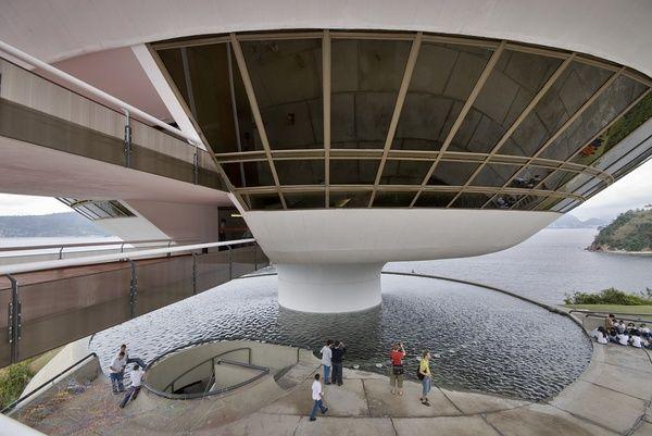 【Niterói Contemporary Art Museum】奥斯卡•尼迈耶