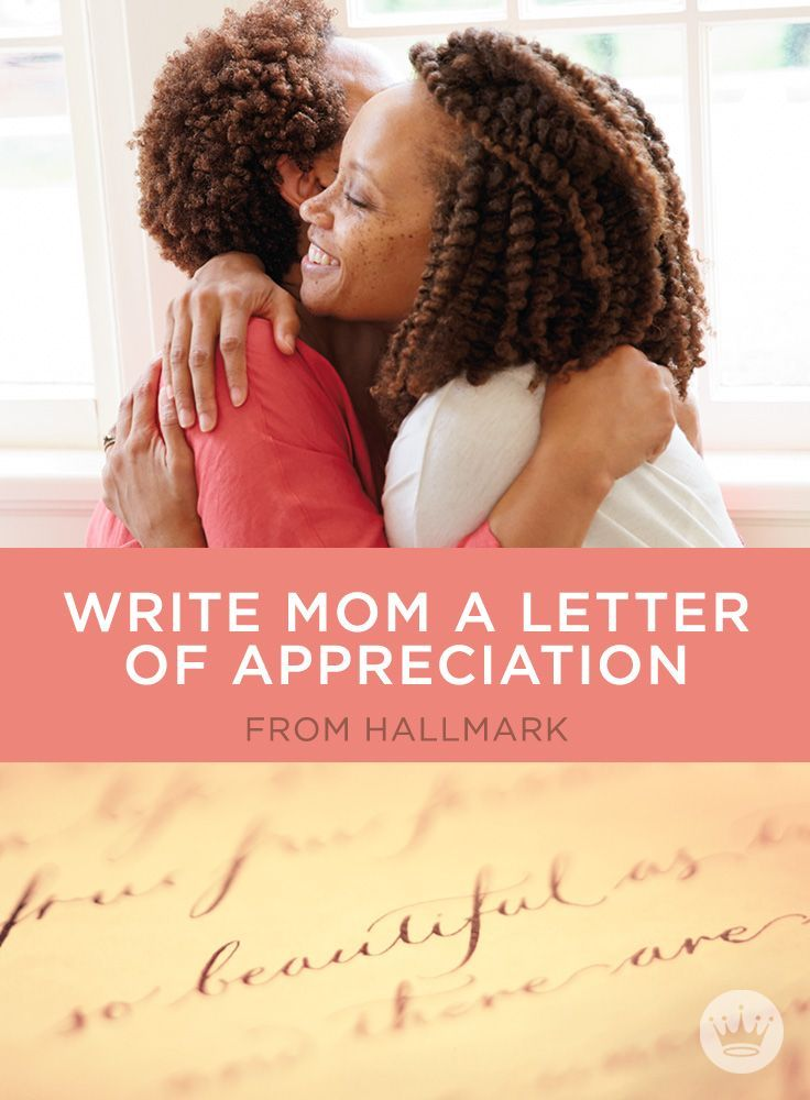 Dear Mom Write Mom A Letter Of Appreciation  Dear Mom And