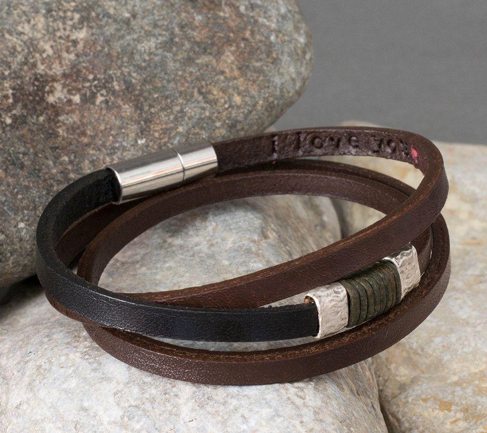 0e4bf885c9525 Man Bracelet,Personalized Mens Bracelet, Mens Bracelet, Men ...