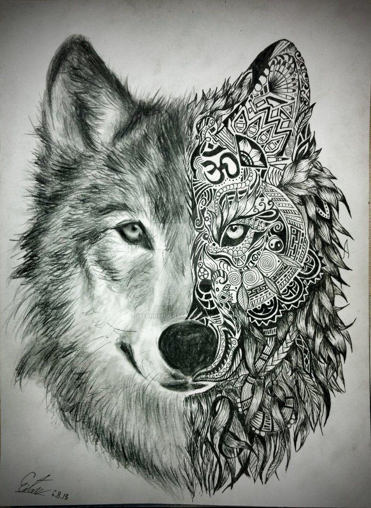 Pin By Ann Jiles On Zenspiration Wolf Tattoo Design Wolf Tattoos Wolf Tattoos Men