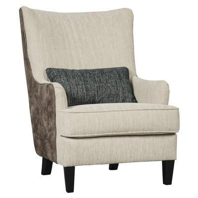 Best Accent Chair A Chic Two Tone Fabric Treatment Truly 400 x 300