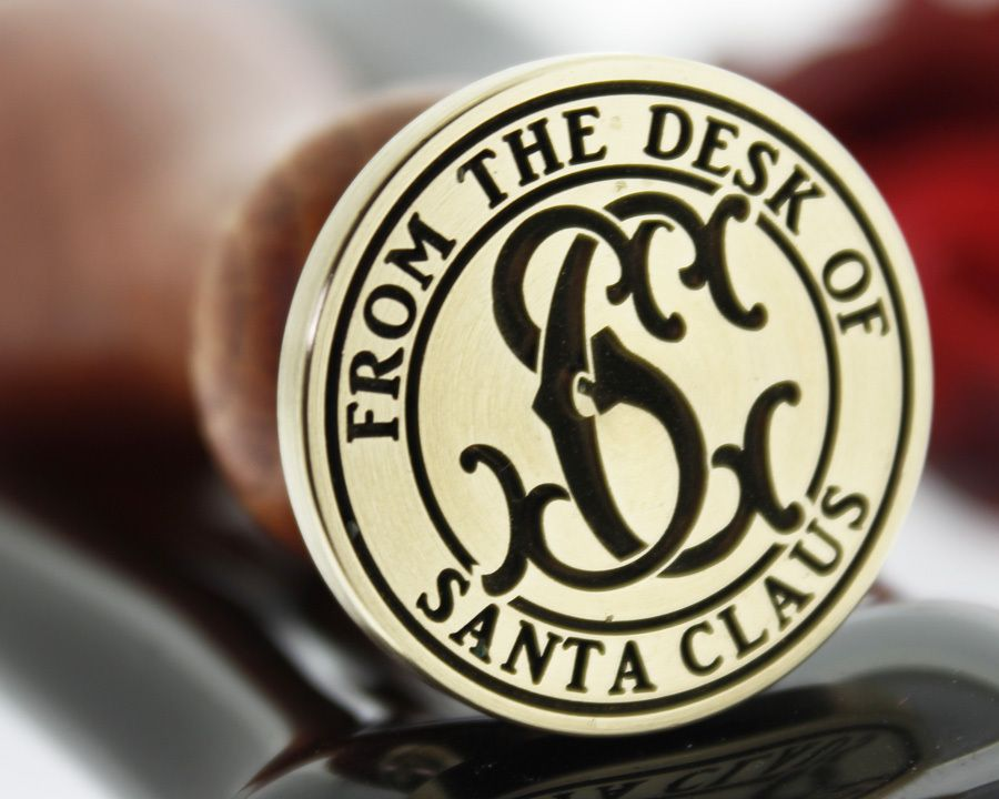 Christmas - from the desk of santa claus monogram d2 ...