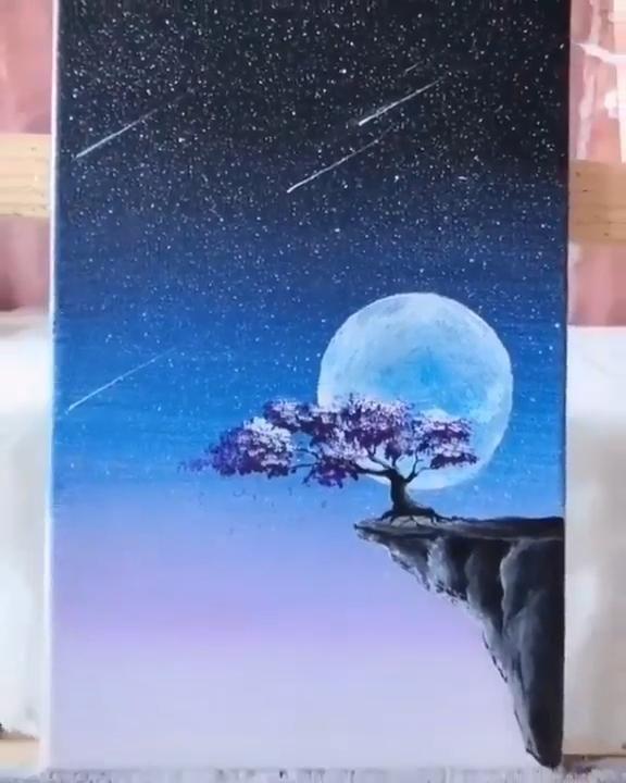 Beautiful Canvas Painting Art