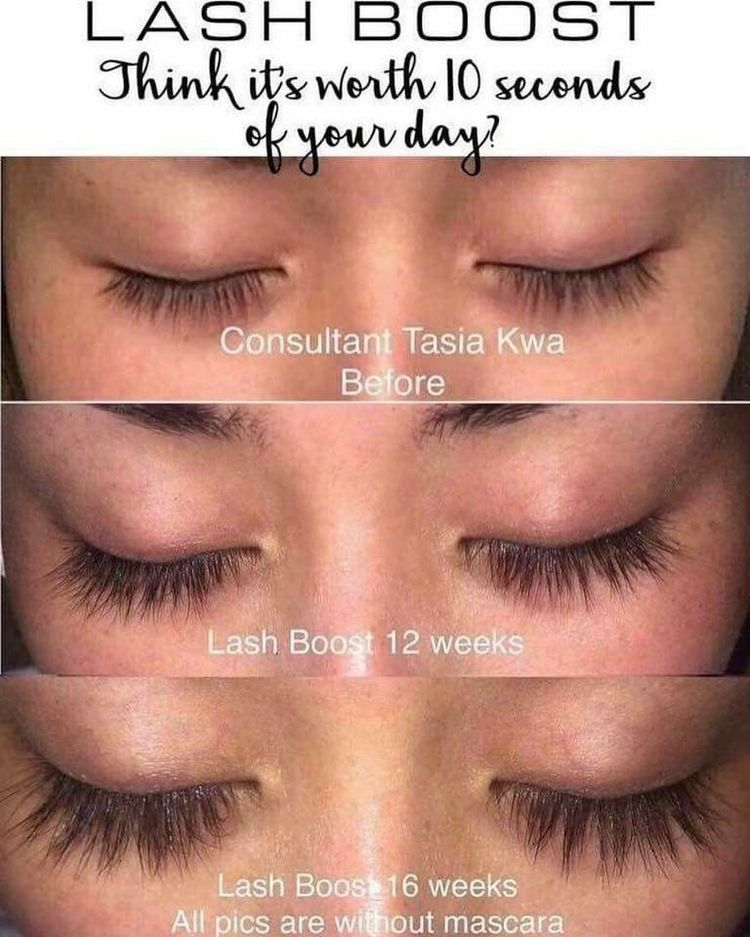 Get the appearance of lush longerlooking lashes in as