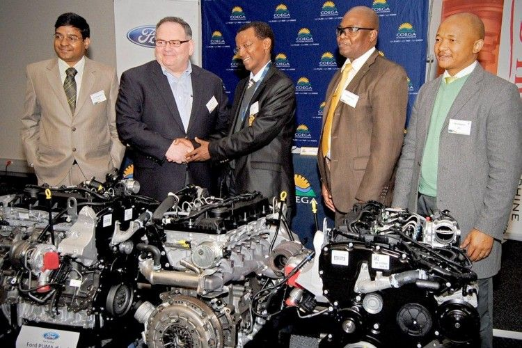 Ford South Africa Engines Donated Towards Training And Development With Images Training And Development Ford Ford News