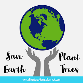 Clipart Creationz Save Earth Posters Save Earth Plant Trees In 2021 Earth Poster Save Earth Posters Save Earth