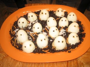 Halloween Deviled Eggs Recipe | Recipe: Recipe: Deviled Eggs Just in Time for Halloween