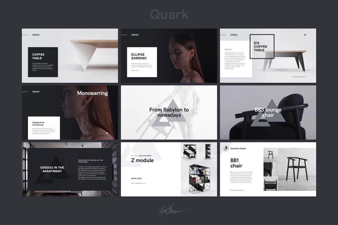 Quark Keynote Presentation Template on Behance | YSAE | Pinterest ...