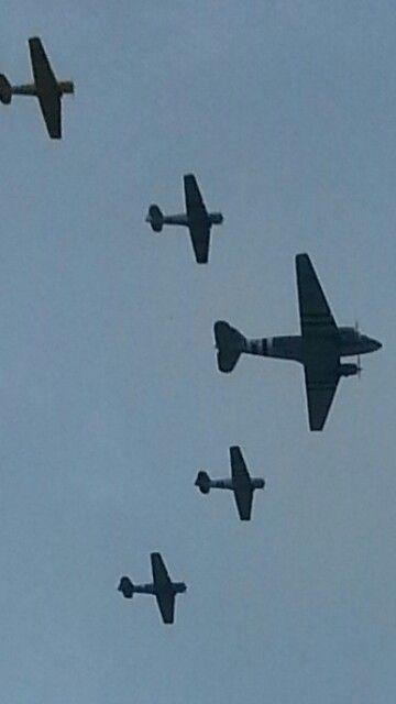 Flyover Nascar April 2015