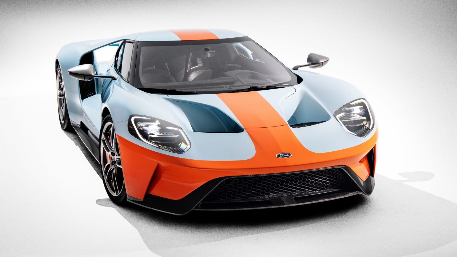 Settled The New Ford Gt Looks Best In Gulf Livery Ford Gt Ford Gt Gulf Super Cars