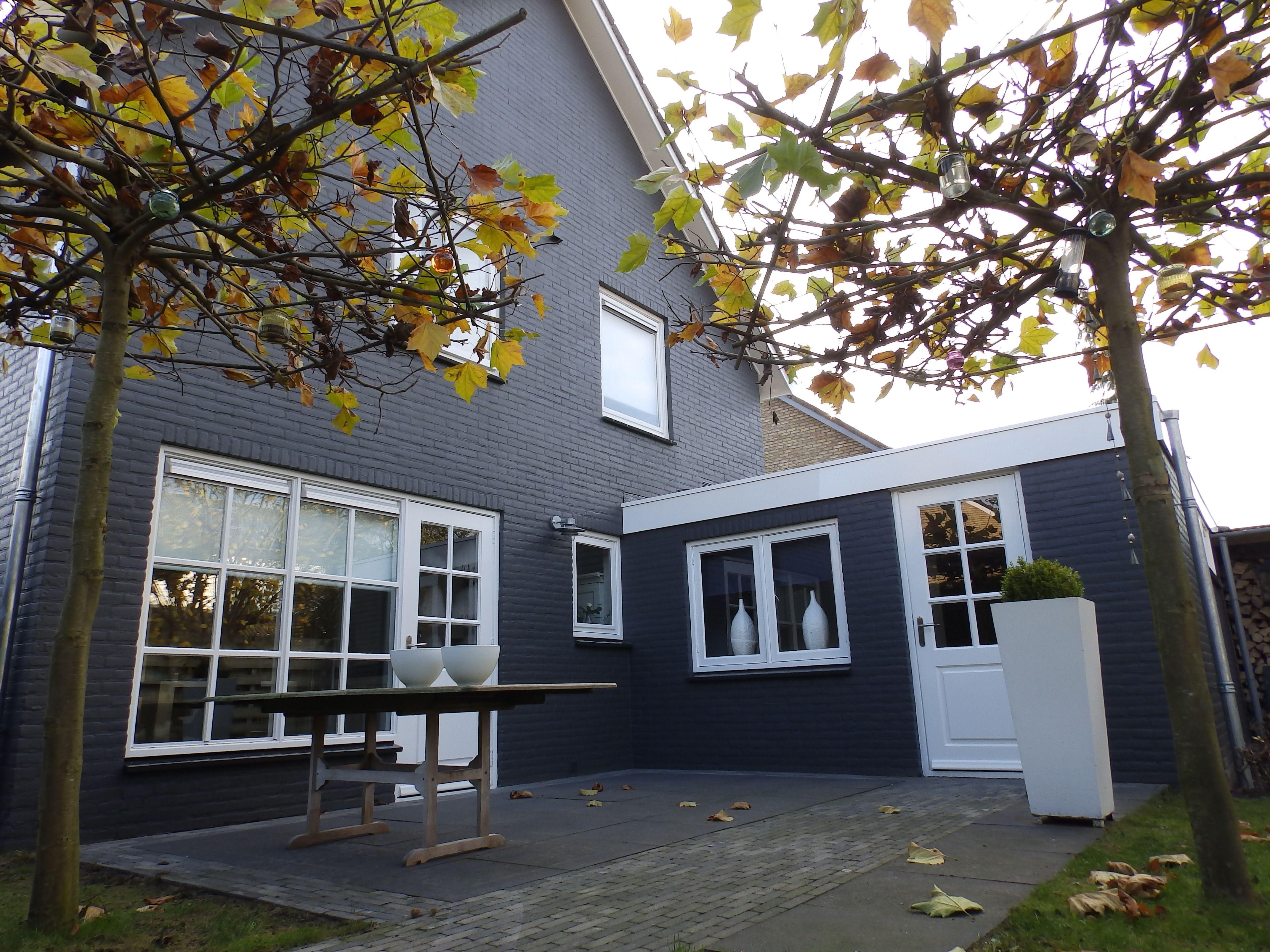 Nieuwe situatie huis pinterest beste idee n over for Woning schilderen