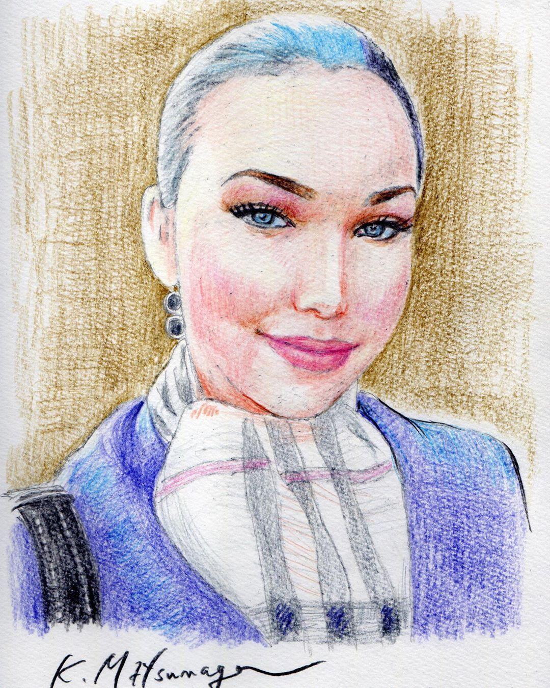 #instaart #instagood  #art @lizea_06 #lady #illustration #portrait #pencildrawing #coloredpencil #coloredpencil_art #slowart #friend #respect #thanks #色鉛筆アート #色鉛筆画 #肖像画 #idrawtheair