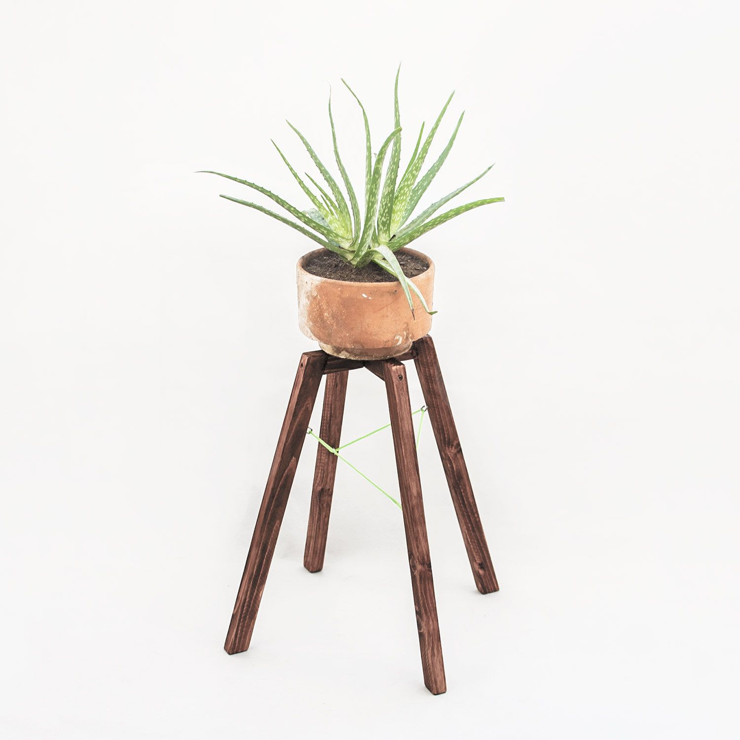 Vintage Plant Stand Rustic Wooden Planter Stand Indoor 400 x 300