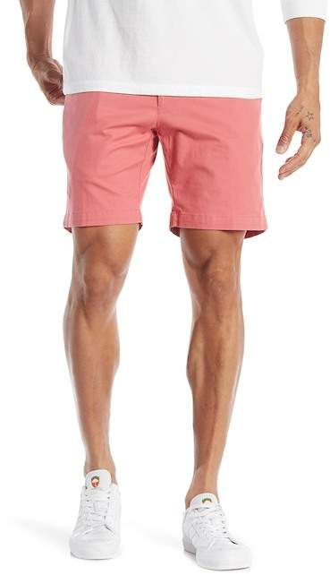 08f99be9f8 Peter Millar | Soft Touch Stretch Twill Shorts | Nordstrom Rack Pink  Shorts, Swim Trunks