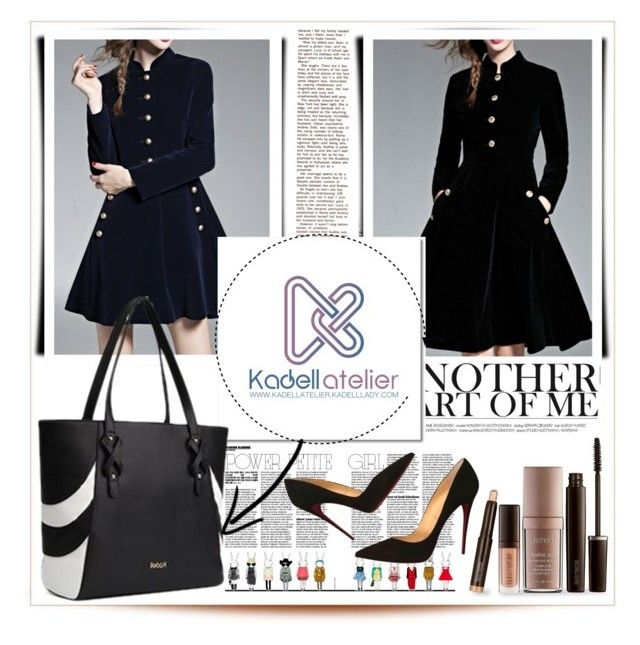 """""""Kadell Style"""" by emina-095 ❤ liked on Polyvore featuring WithChic, Laura Mercier and Christian Louboutin"""