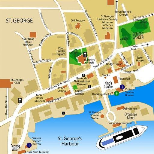Anniversary Vacation In Bermuda: St. George's Harbour, Bermuda