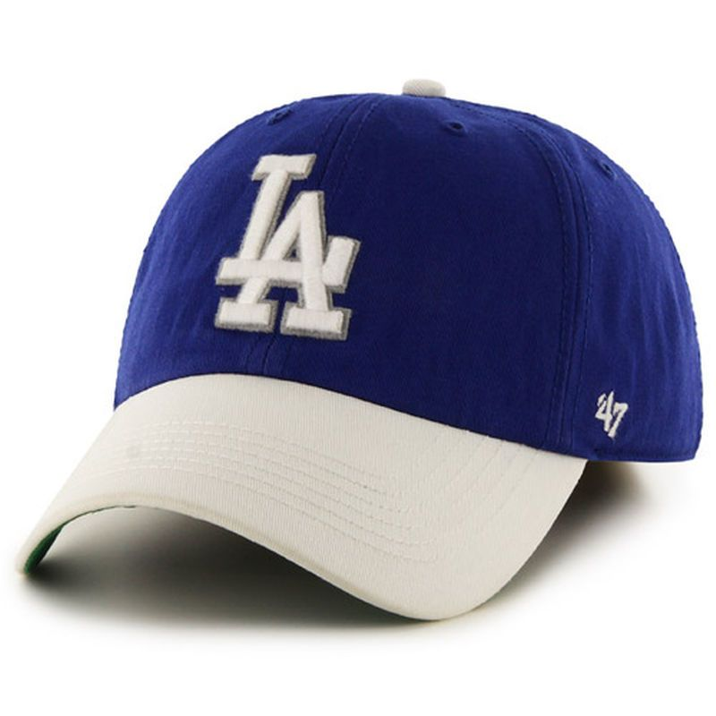 timeless design f29ca f5c37 Los Angeles Dodgers  47 Home Batting Practice Franchise Fitted Hat -  Royal White