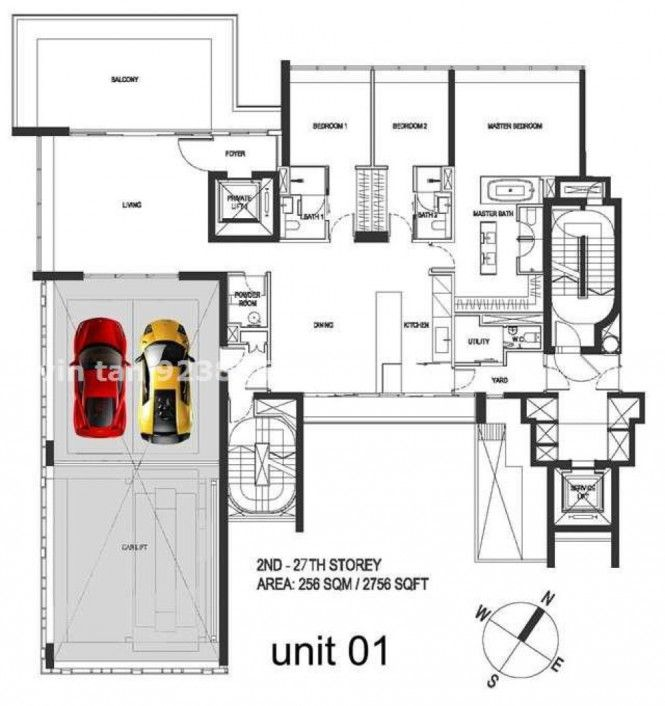 Super luxury singapore apartment with in room car parking before you buy that stunning
