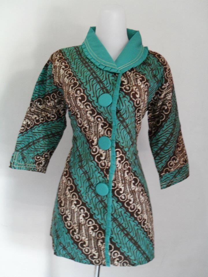 Batik parang kombinasi Contekan baju di 2019 Batik